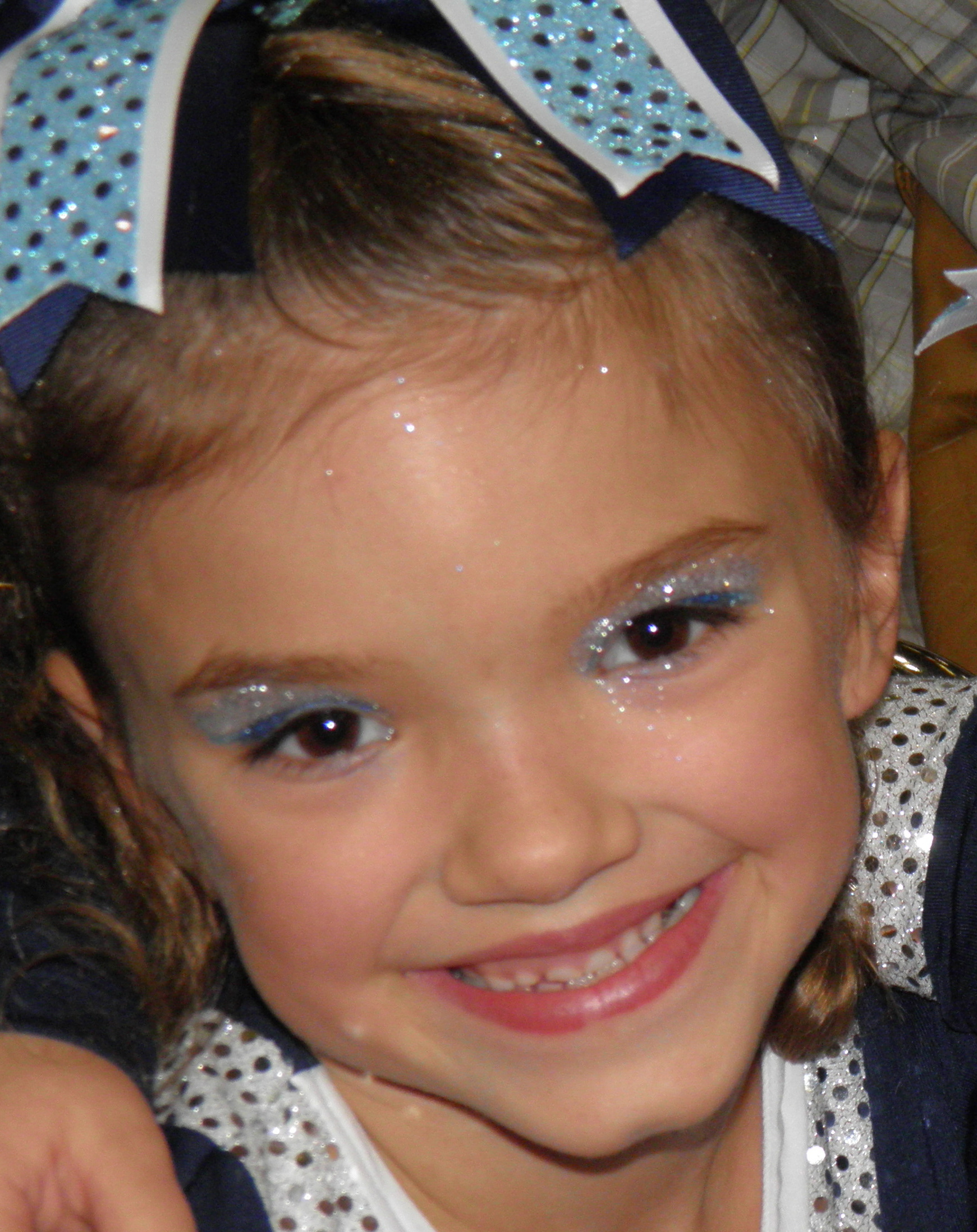 Age appropriate cheer makeup cheer makeup magazine mini baditri Image collections