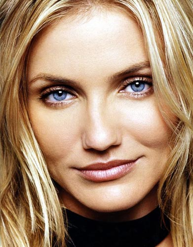 Cameron Diaz Natural Makeup